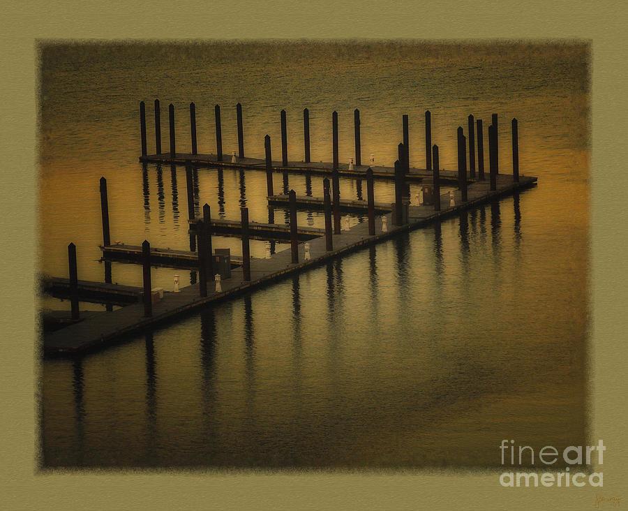 Pier Photograph - The Dock by Jeff Breiman