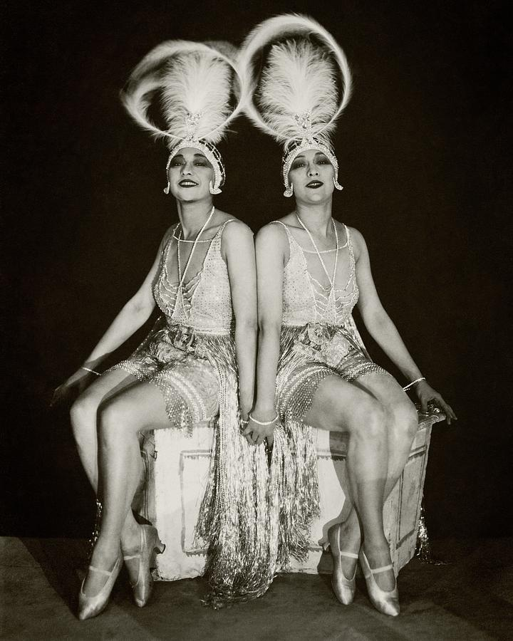 The Dolly Sisters Photograph by James Abbe