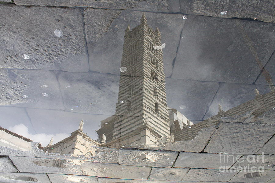 Siena Photograph - The Dome In The Pool by Marco Affini