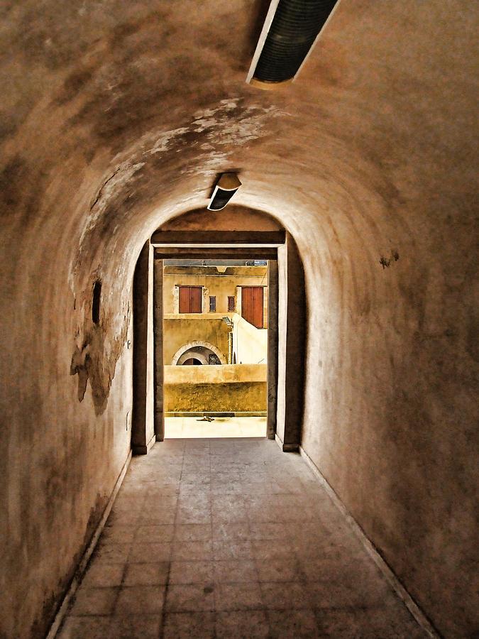 Ancien Painting - The Door 2 by Dhouib Skander