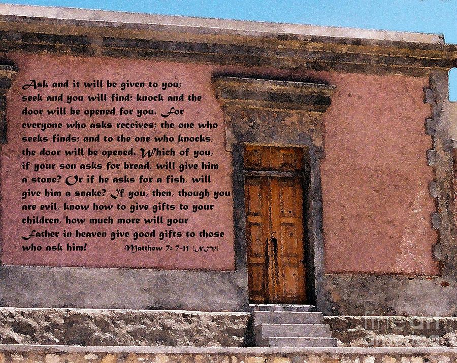 Door Painting - The Door by Kirt Tisdale