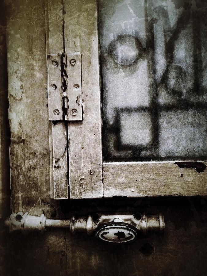 Door Photograph - The Door Of Belcourt by Natasha Marco