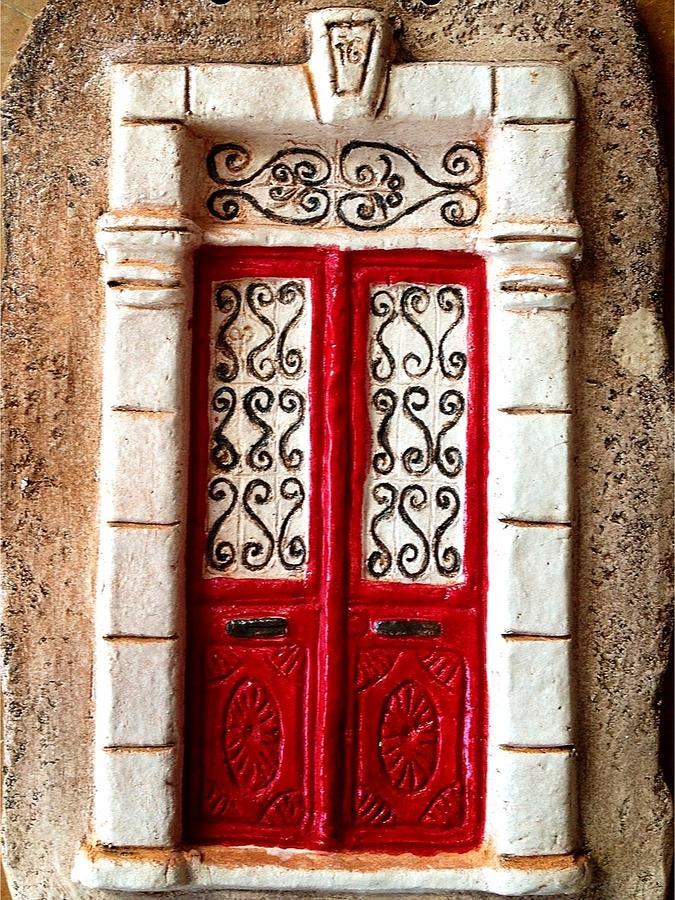 Ceramic Ceramic Art - The Door Of Happiness by Cigdem Cigdem
