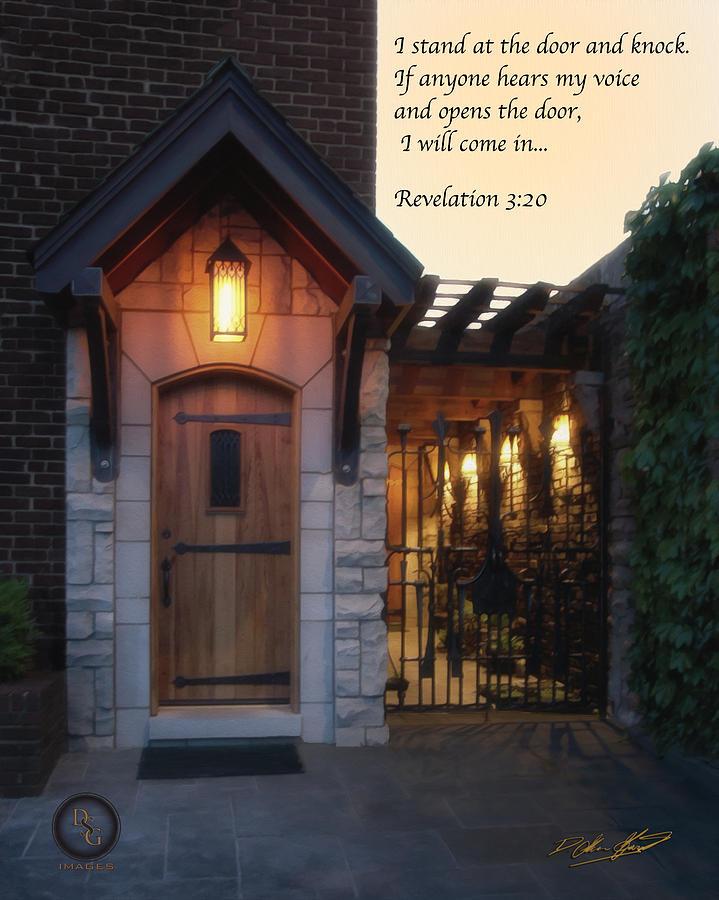 Door Painting - The Door by Shane Garrett