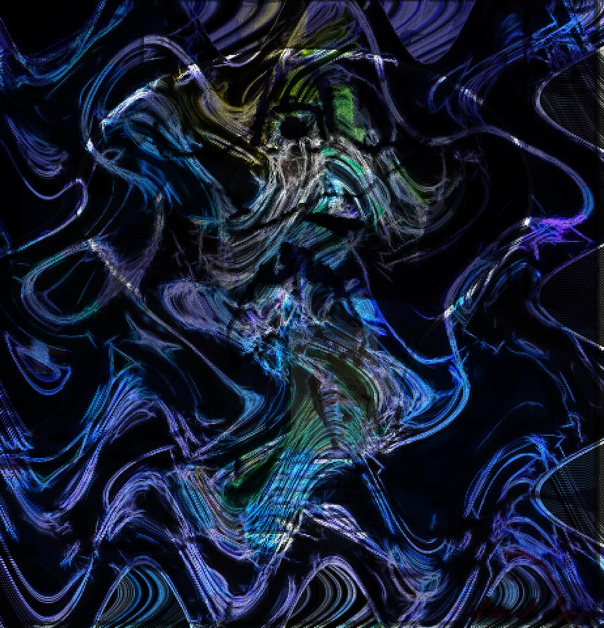 The Adversary Mixed Media - The Dragon Behind The Mask  by Withintensity  Touch