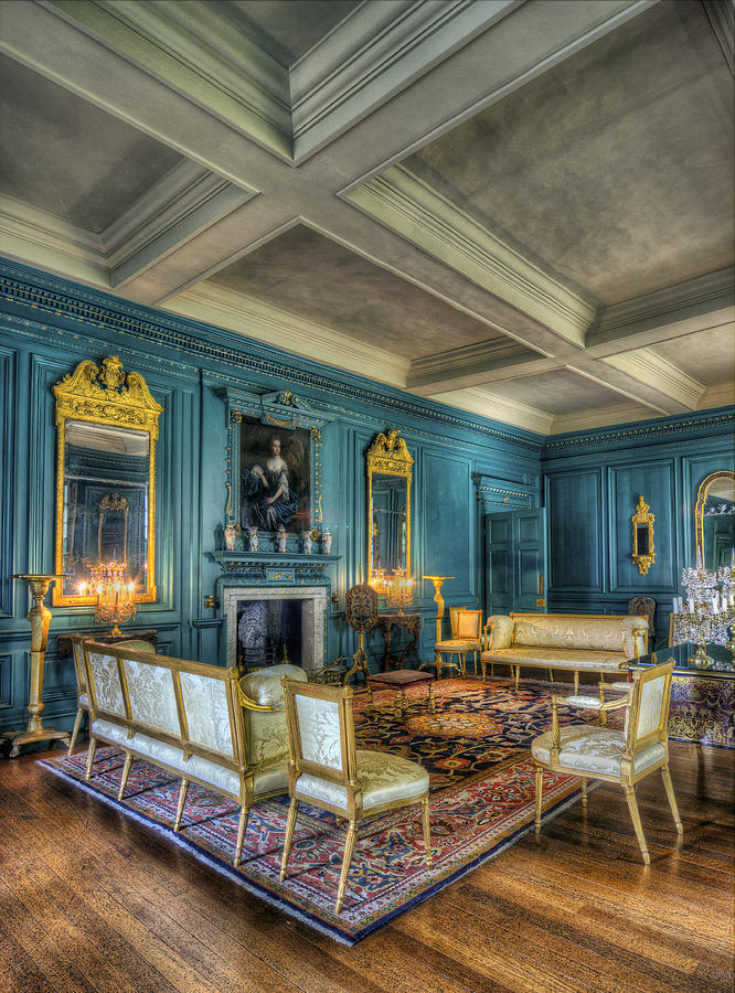 Treasure Photograph - The Drawing Room by Ian Mitchell