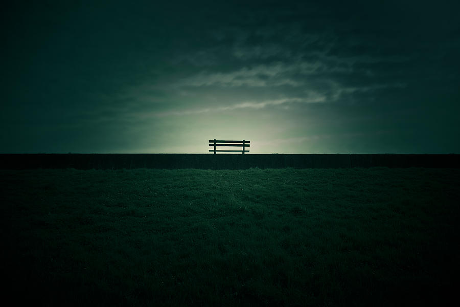 Bench Photograph - The Dreamer by Charlie Tash
