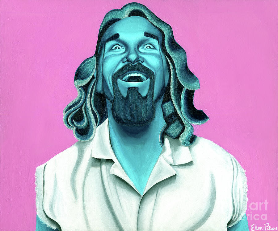 Dude Painting - The Dude by Ellen Patton