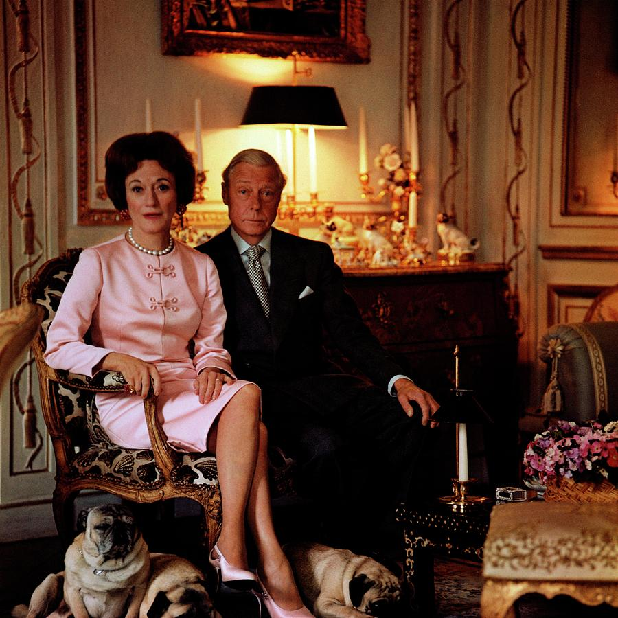 The Duke And Duchess Of Windsor In Their Paris Photograph by Horst P. Horst