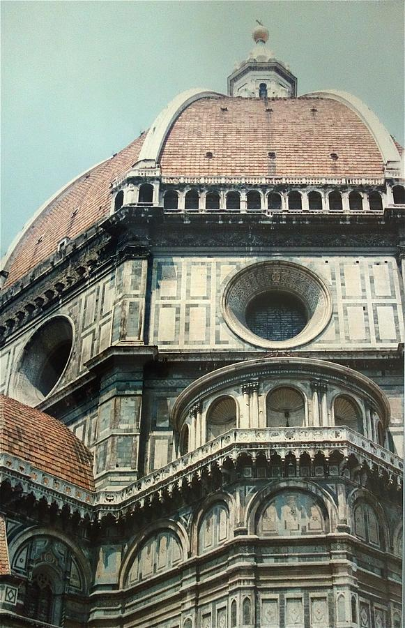 Duomo Painting - The Duomo Firenze by Melinda Saminski