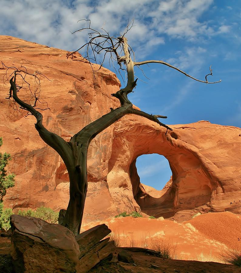 Monument Valley Photograph - The Ear Of The Wind 2 by Mo Barton