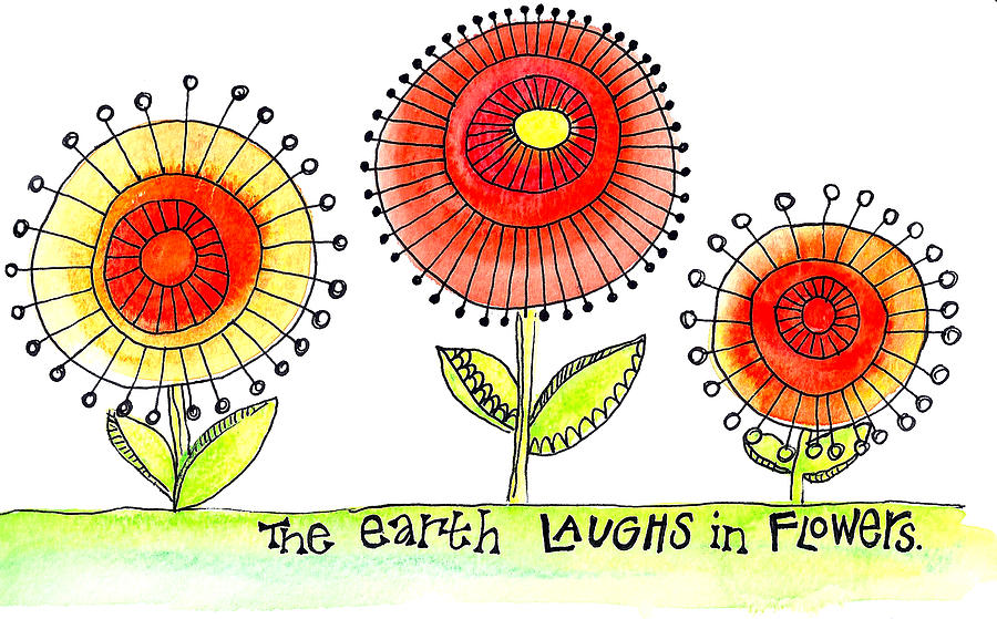 Image result for earth laughs in flowers