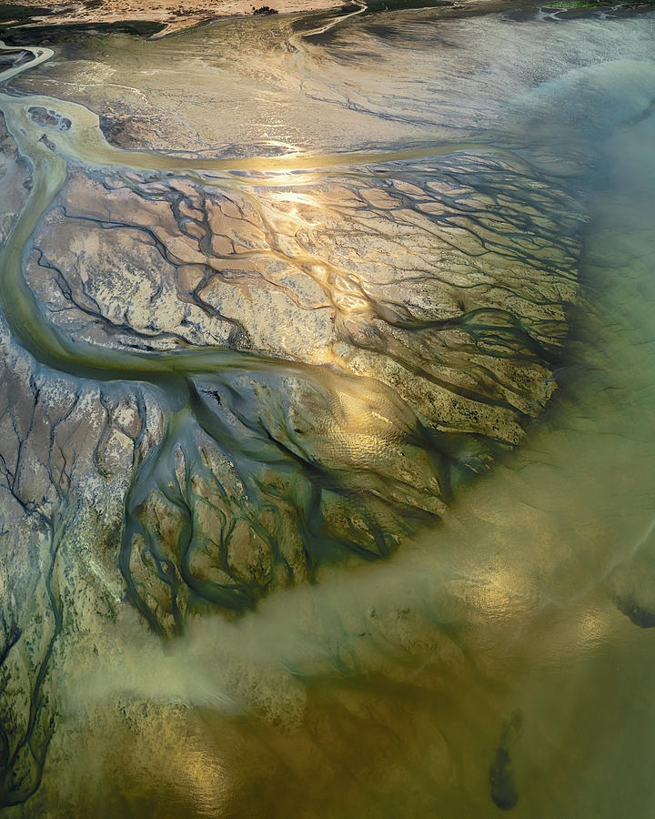 Landscape Photograph - The Earth Veins by Faisal Alnomas