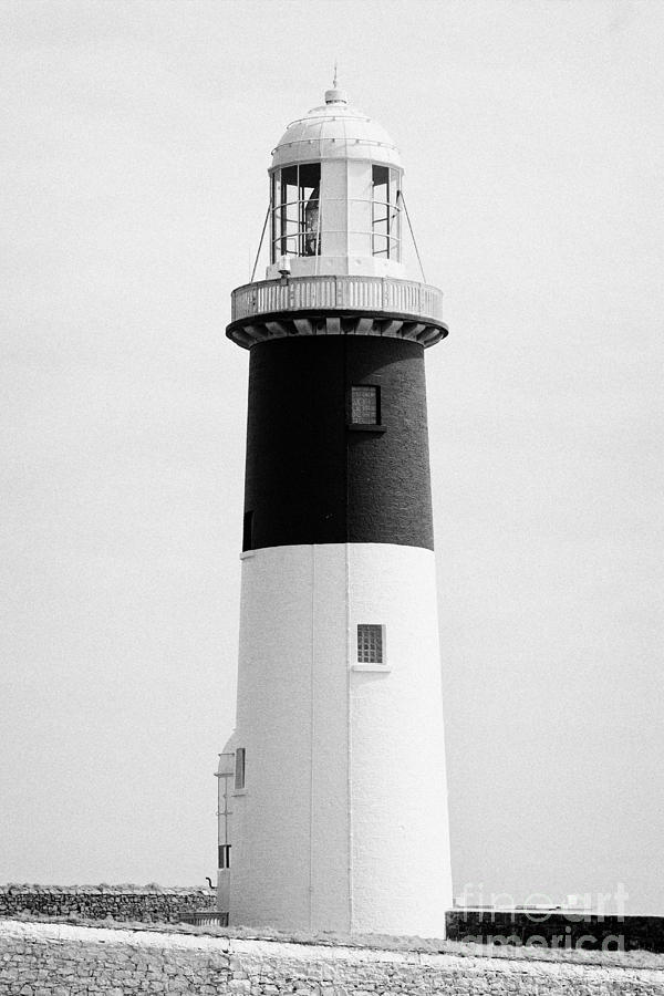 Ireland Photograph - The East Light Lighthouse Altacarry Altacorry Head Rathlin Island Northern Ireland by Joe Fox