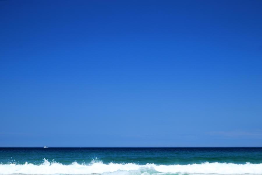 Sea Photograph - The East Sea Of Korea No 5 by Phoresto Kim