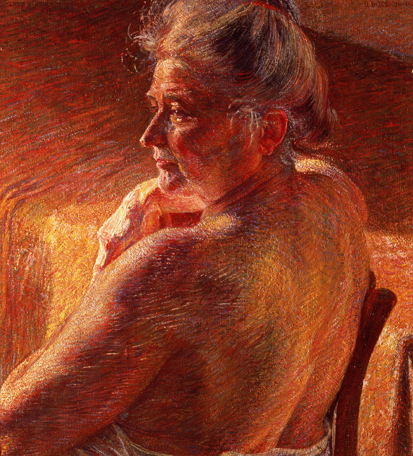Futurist Painting - The Effect Of Sunlight by Umberto Boccioni