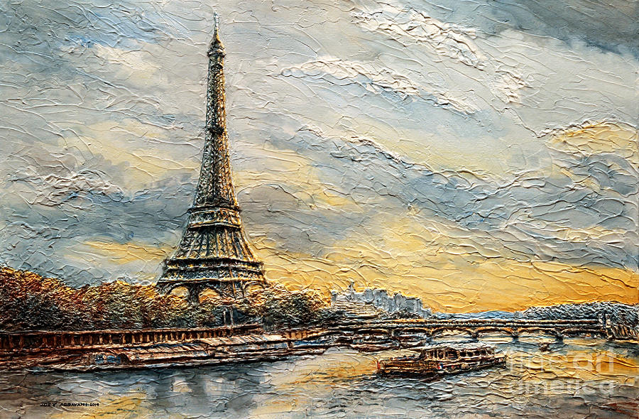 Painting of the Eiffel Tower  OFFICIAL Eiffel Tower Website