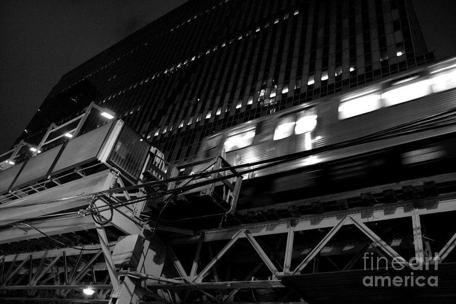 Architecture Photograph - The El by Joe Fantauzzi