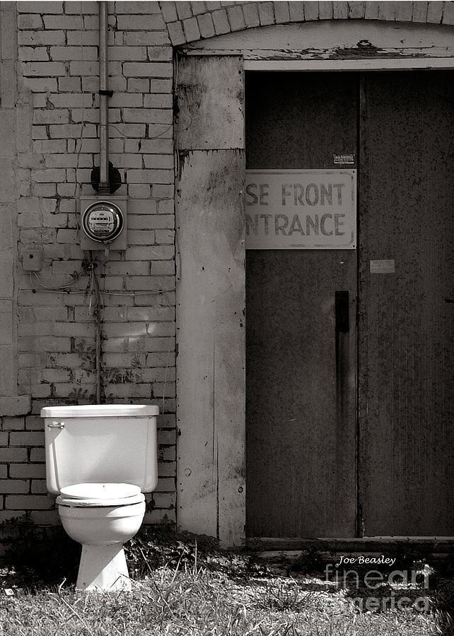 City Photograph - The Electric Outhouse by   Joe Beasley