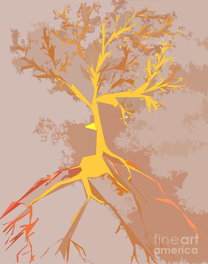 The Elegant Tree Mixed Media