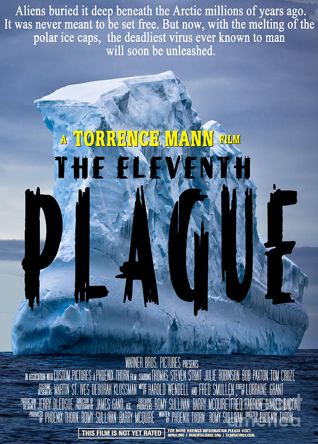 The Eleventh Plague Faux Movie Poster Photograph By Mike