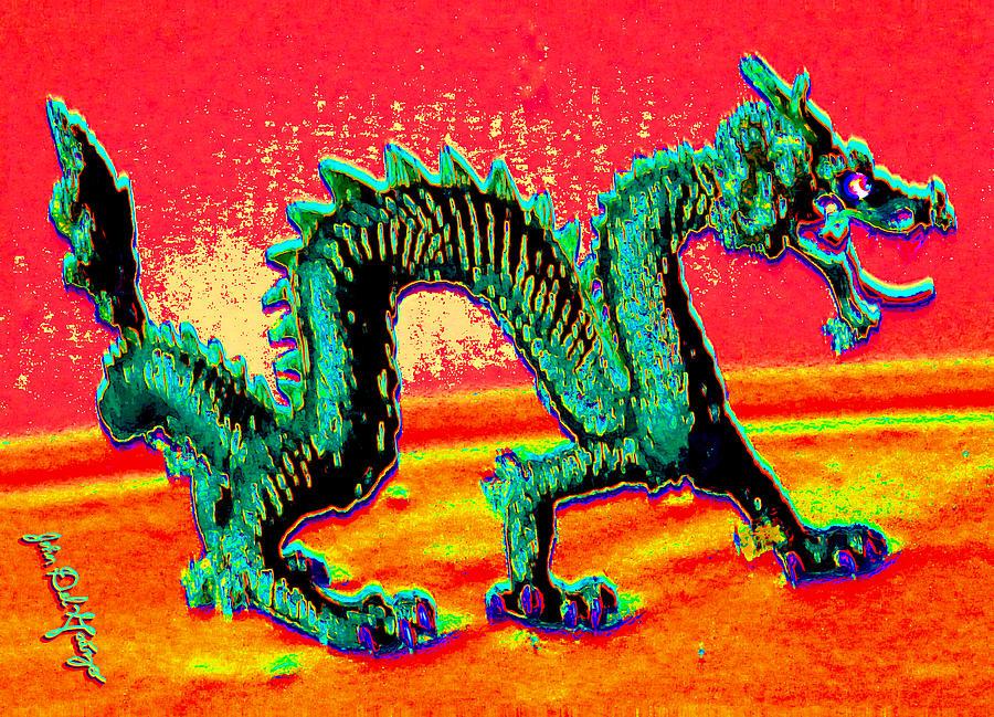 The Emerald Dragons Strut Photograph