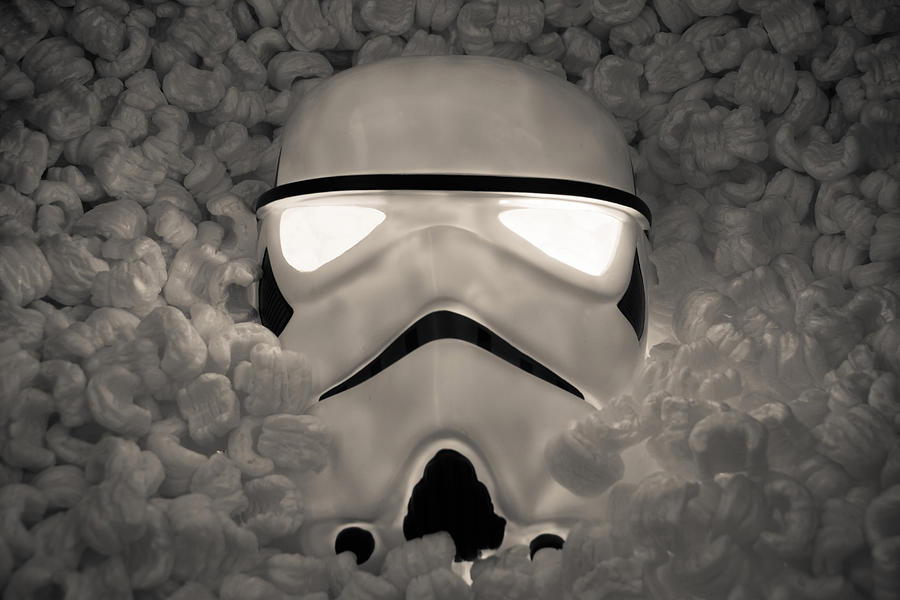 Star Wars Photograph - The Empire Pays Peanuts by Randy Turnbow