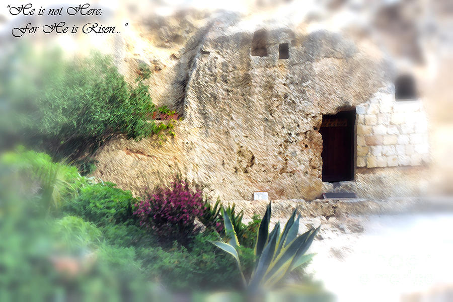 Israel Photograph - The Empty Tomb by Thomas R Fletcher