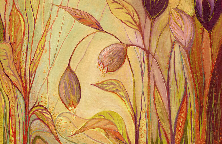 Floral Painting - The Enchantment by Jennifer Lommers