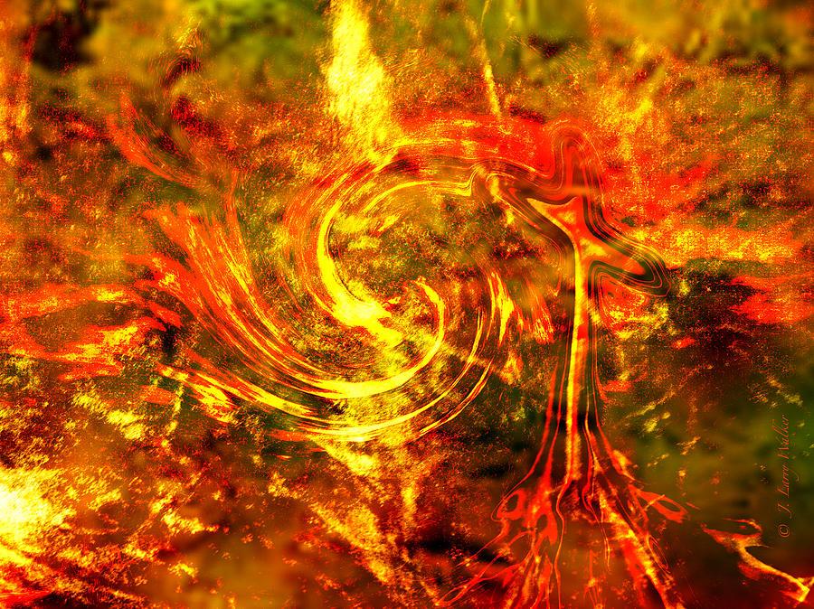 J Larry Walker Digital Art - The End - 12/21/2012 - Horrific Hallucination by J Larry Walker