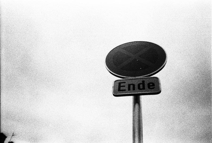Black And White Photograph - The End by Anton Ishmurzin