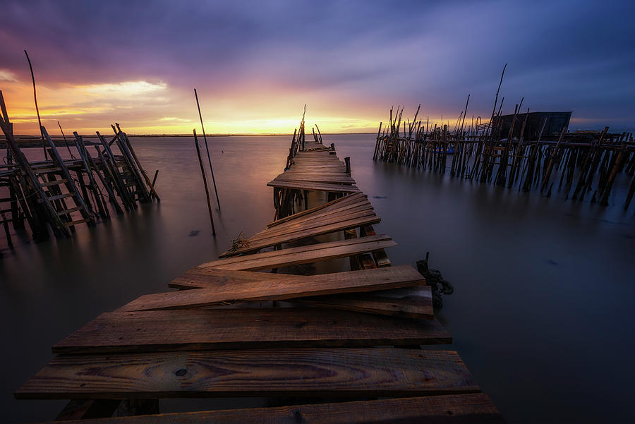 Sunset Photograph - The End by Jorge Ruiz Dueso