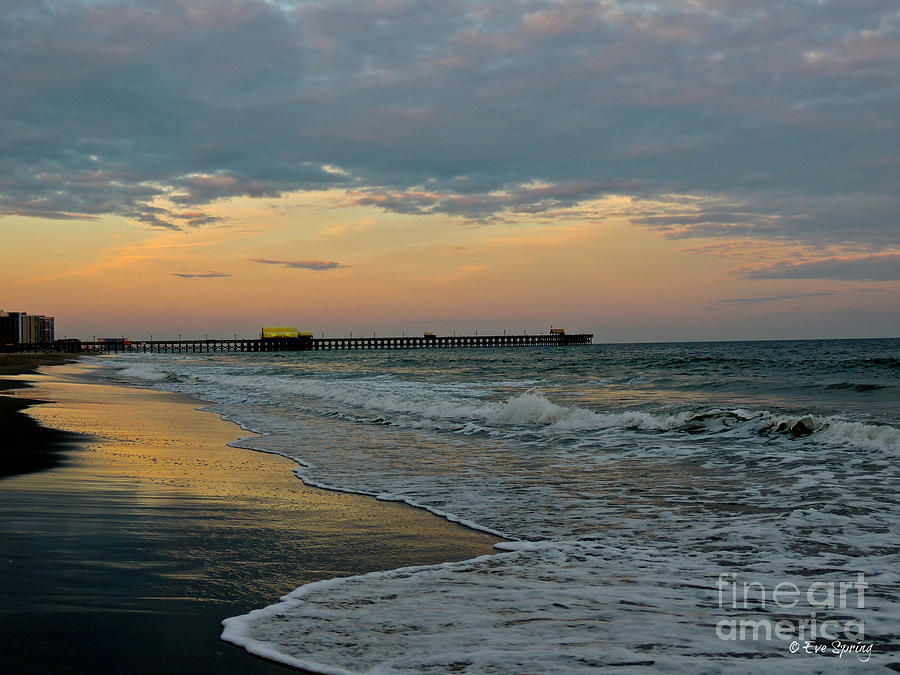 Beach Photograph - The End Of The Day by Eve Spring