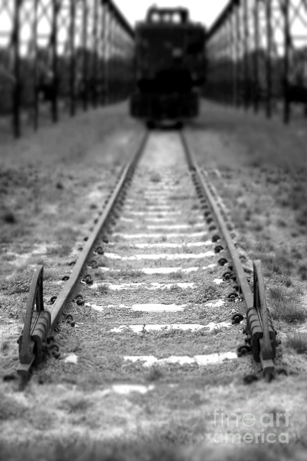 Railroad Photograph - The End Of The Line by Olivier Le Queinec