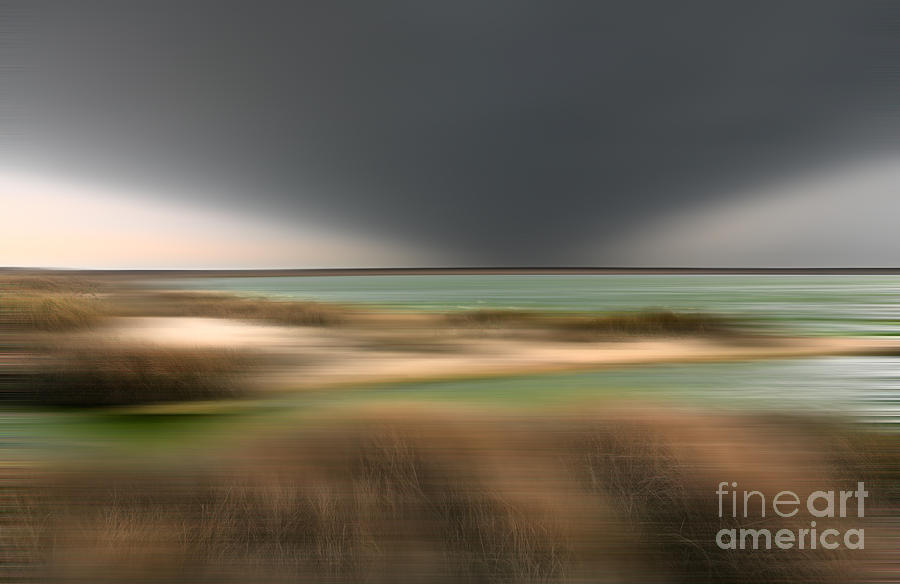 Outer Banks Photograph - The End Of Time - A Tranquil Moments Landscape by Dan Carmichael