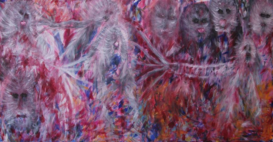 Ghosts Painting - The End by Randall Ciotti