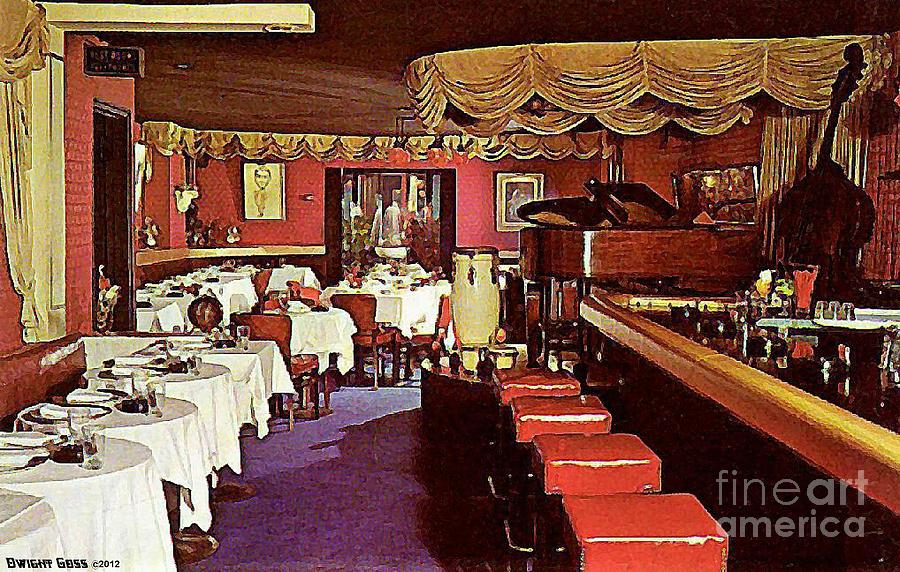 The entertainer restaurant in new york city 1950 39 s for American cuisine restaurants in nyc