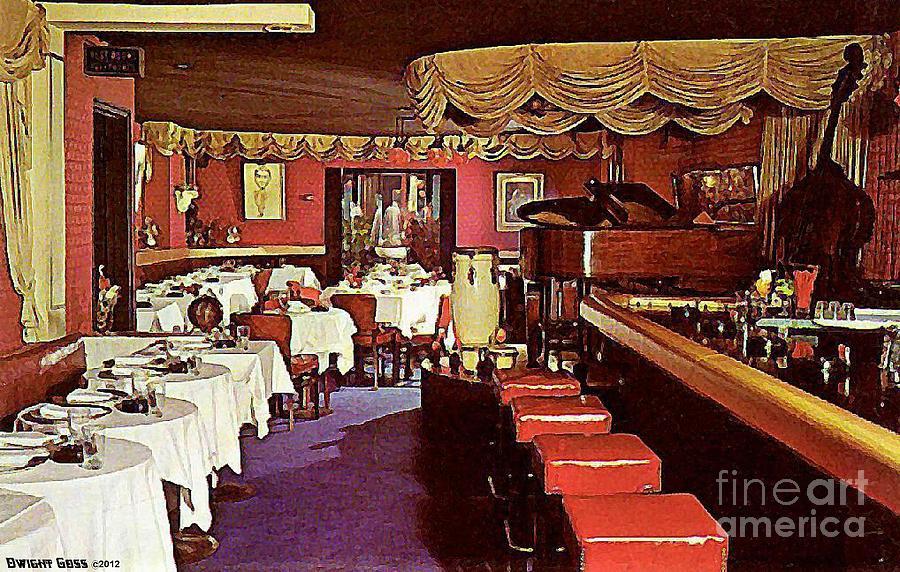 The entertainer restaurant in new york city 1950 39 s for American cuisine restaurants nyc