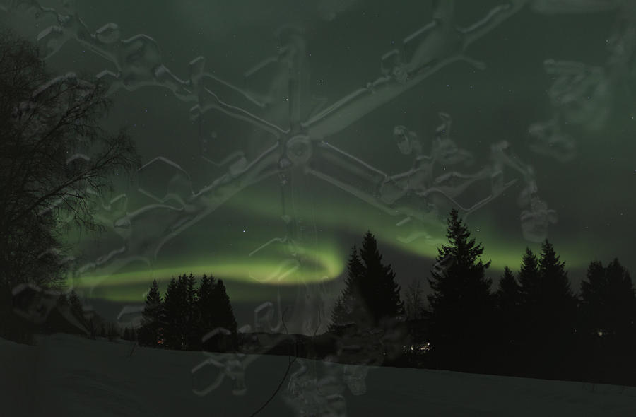 Aurora Borealis Photograph - The Essence Of Winter by Ulrich Kunst And Bettina Scheidulin
