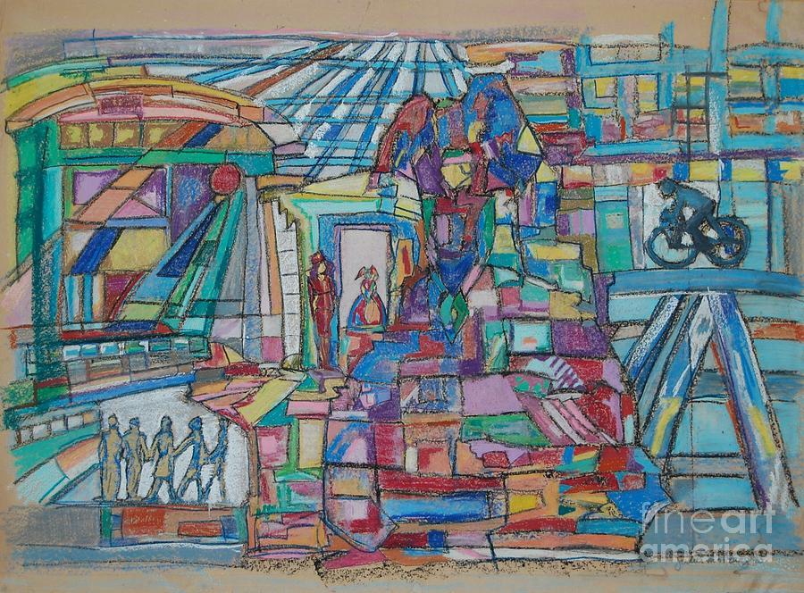 The Estranger Painting by Judith Van Praag