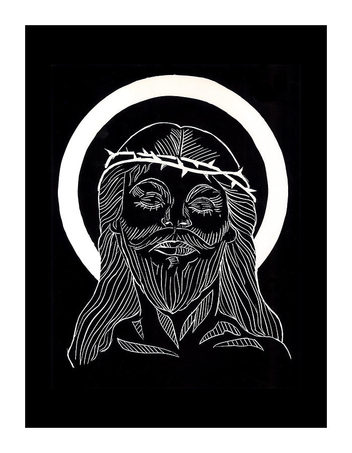 Last Super Painting - The Eucharist by Peter Melonas