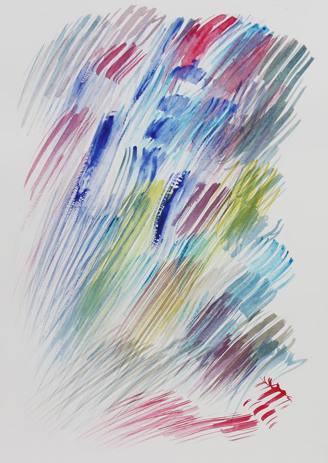Emotions Painting - The Evaporation of Expectations by Tom Atkins