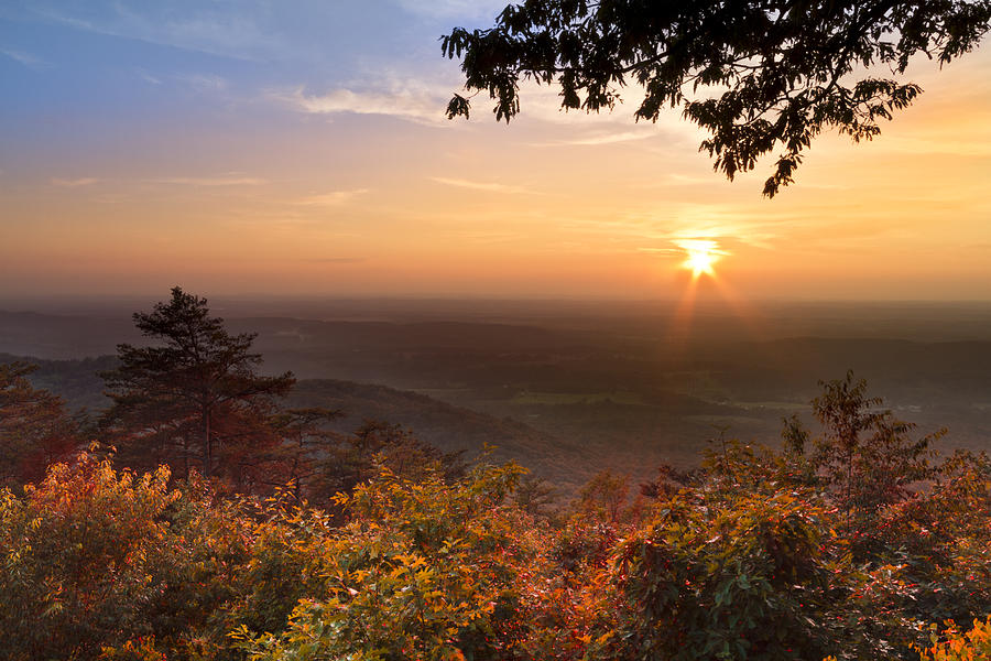 Appalachia Photograph - The Evening Star by Debra and Dave Vanderlaan