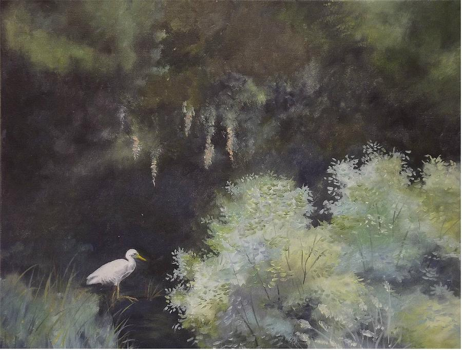 The Everglades Painting - The Everglades by Wanda Dansereau