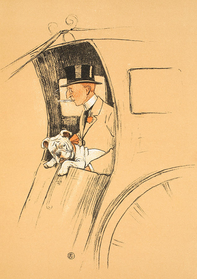 Aldin Painting - The Extra Passenger by Cecil Charles Windsor Aldin