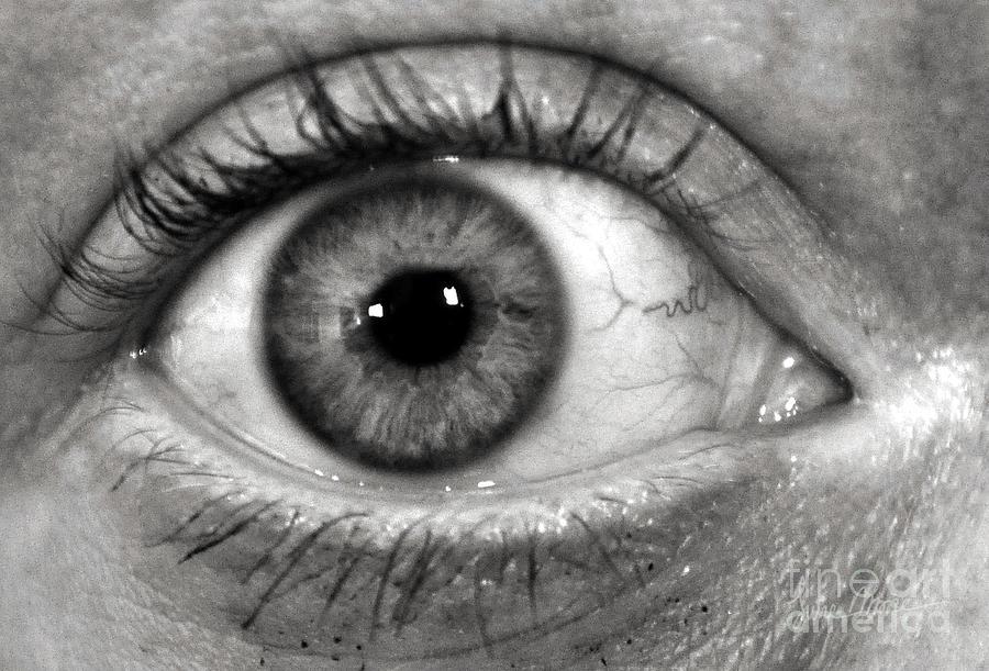 Eye Photograph - The Eye by Luke Moore