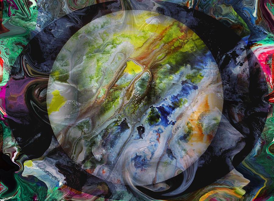 Surrealism Digital Art - The Eye Of Silence by Otto Rapp