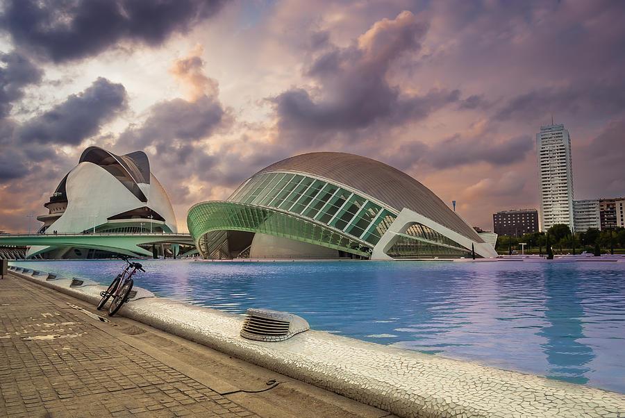 Valencia Photograph - The Eye Of Valencia by Fabio  Mancino