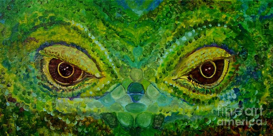 Eyes Painting - The Eyes Have It by Julie Brugh Riffey