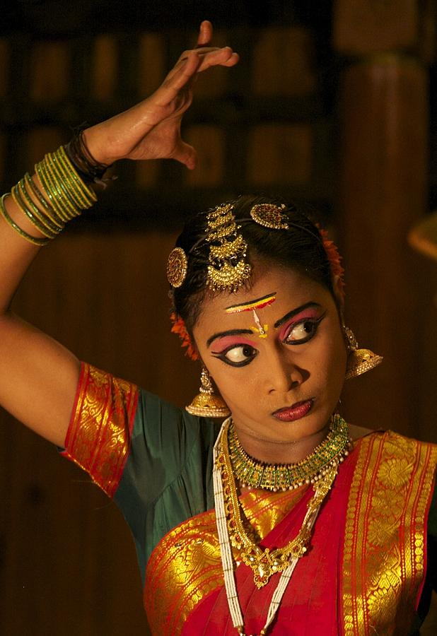 Classical Indian Dance Photograph - The Eyes by Lee Stickels